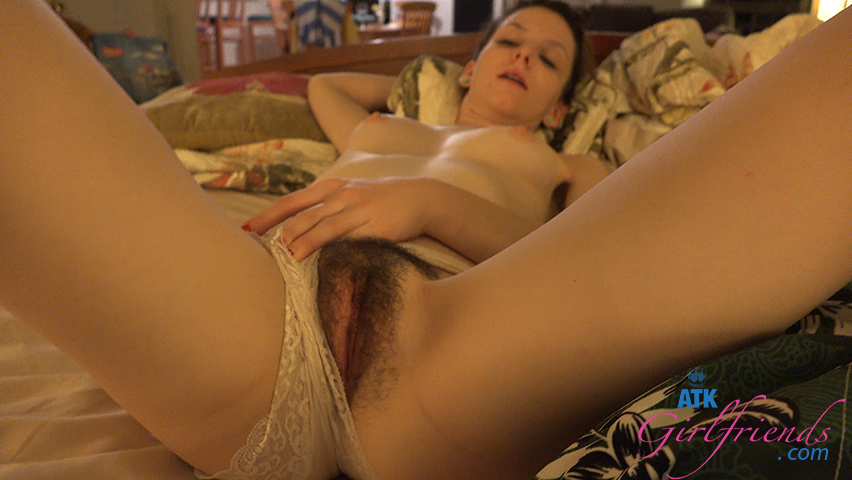 The vacation ends with cum on her hands